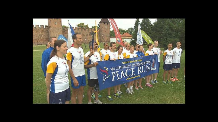 Video Česko běželo za mír