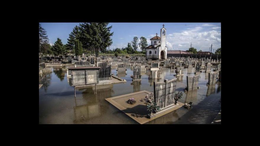 Video Speciál Horizontu ČT24 k dopadům balkánských povodní