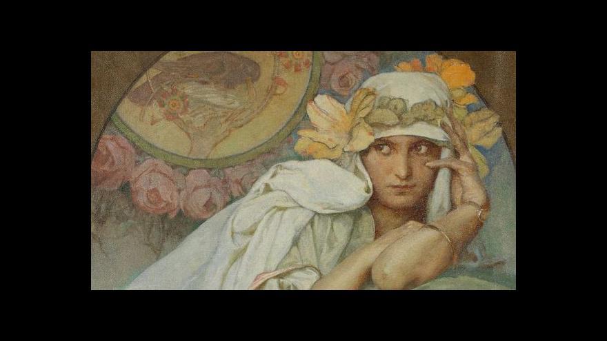Video Alfons Mucha se zrcadlí na zakázku