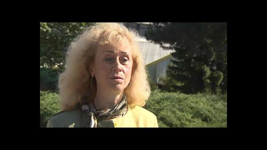 Video Na předválečný slet vzpomíná historička Irena Loskotová