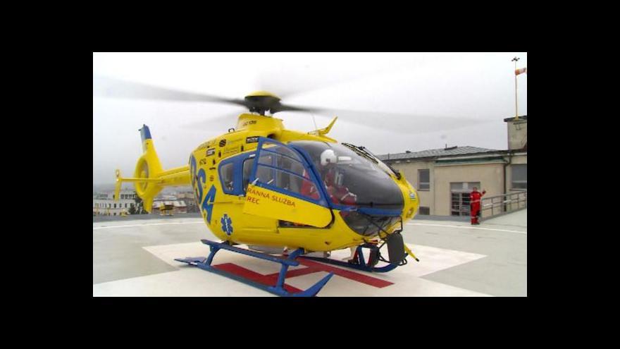 Video Liberecká nemocnice se může spoléhat na nový heliport