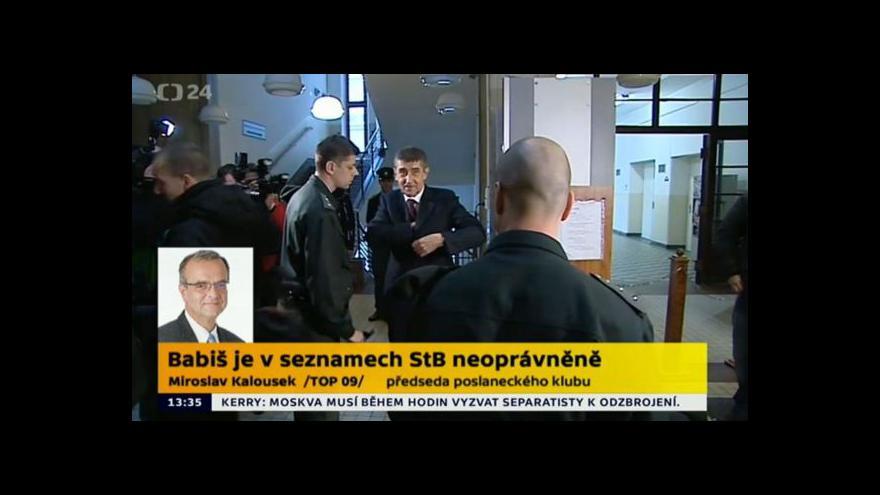 Video Speciál ČT24: Soud rozhodl o vyškrtnutí Andreje Babiše ze svazků StB