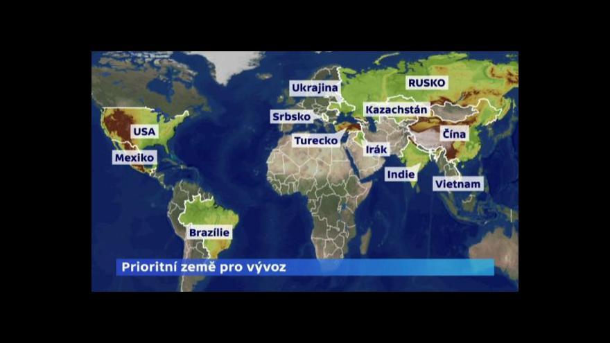 Video Ekonomika ČT24: Ekonomická diplomacie