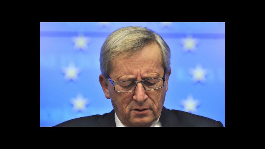 Video Hlavním tématem summitu v Belgii je Juncker