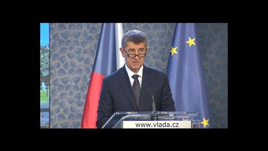 Video Babiš: Předseda komise by si mohl eurokomisaře vybrat sám