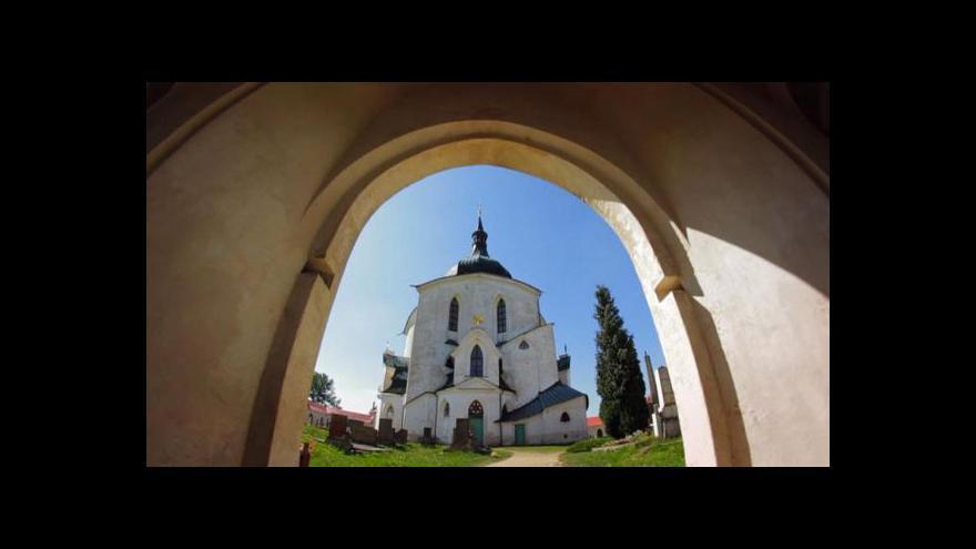 Video Město Ždár nad Sázavou se vydání Santiniho kaple nebojí