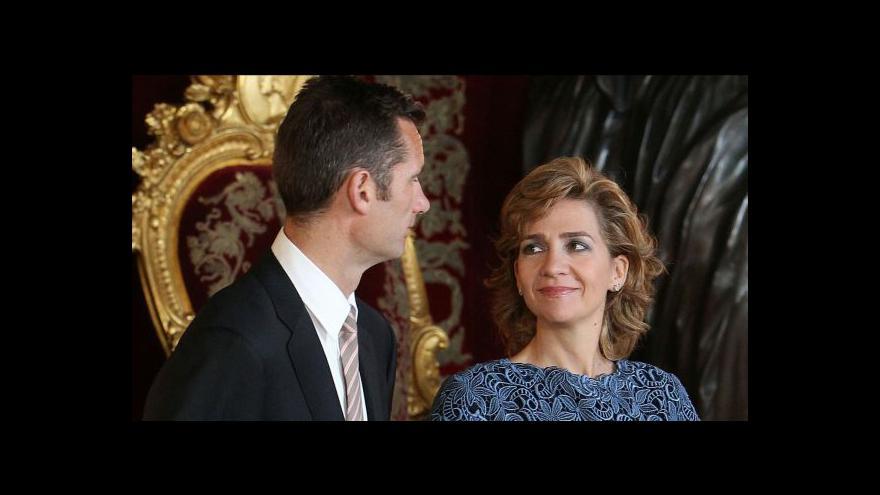Video Soud potvrdil obvinění španělské princezny
