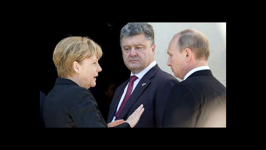 Video Události: Západ hrozí Moskvě dalšími sankcemi