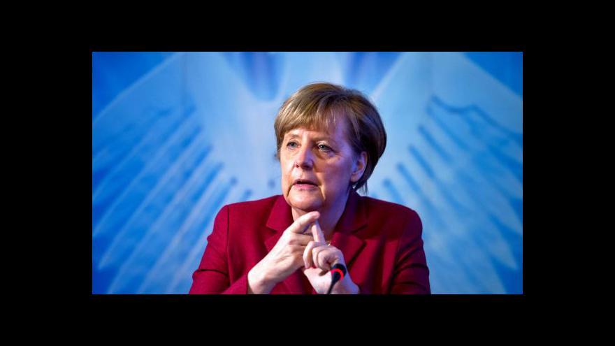 Video Horizont Martina Jonáše: Nechávala se Merkelová špehovat?