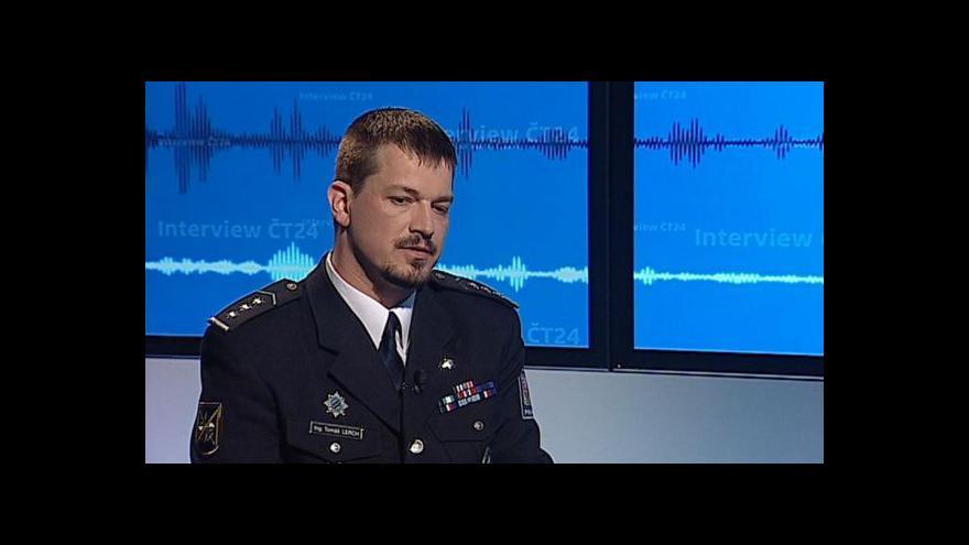 Video Tomáš Lerch v Interview ČT24: Policie dohlédne na všechny dálnice