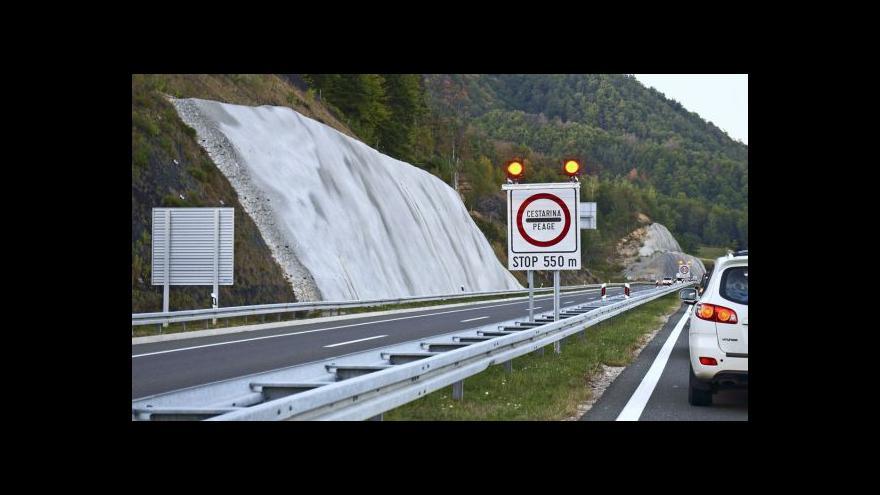 Video ÚAMK: Nejhůře bude u rakouských tunelů