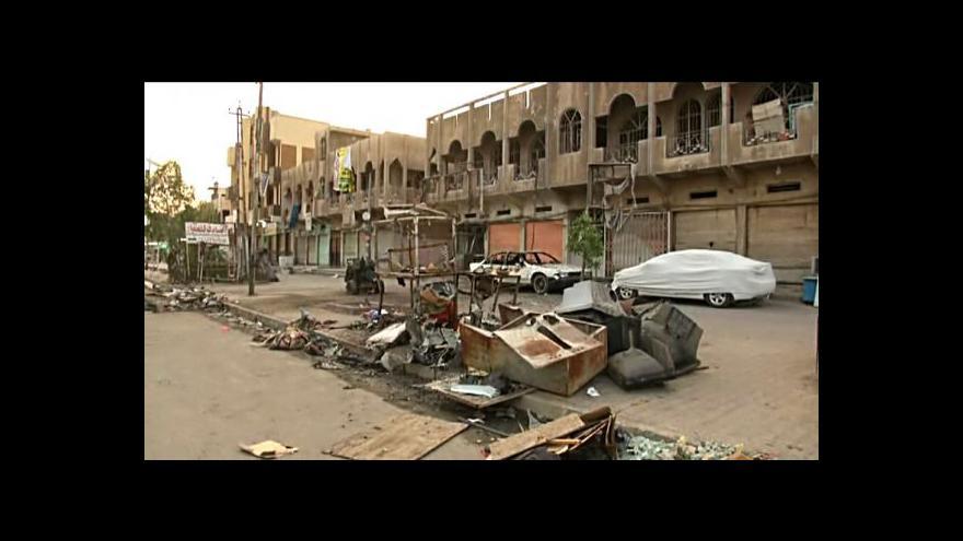 Video Každodenní život v Bagdádu pohledem Češky