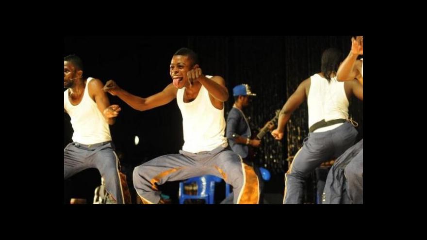 Video Tanec Praha nabídl africký Coup Fatal