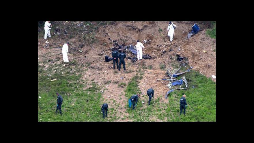Video Události: Příčiny srážky letadel v Německu stále neznámé