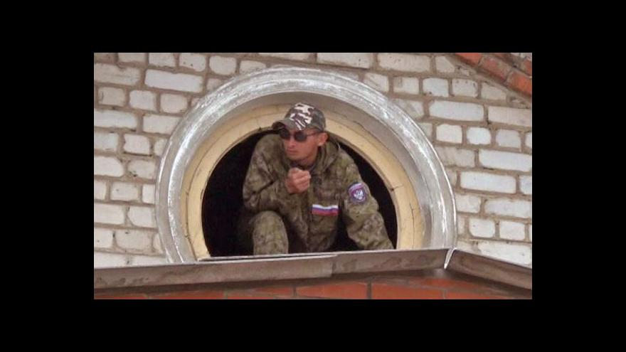 Video Karas: Separatisté signál z Moskvy nějakým způsobem naplní