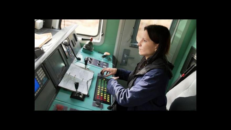 Video Strojvedoucích žen přibývá