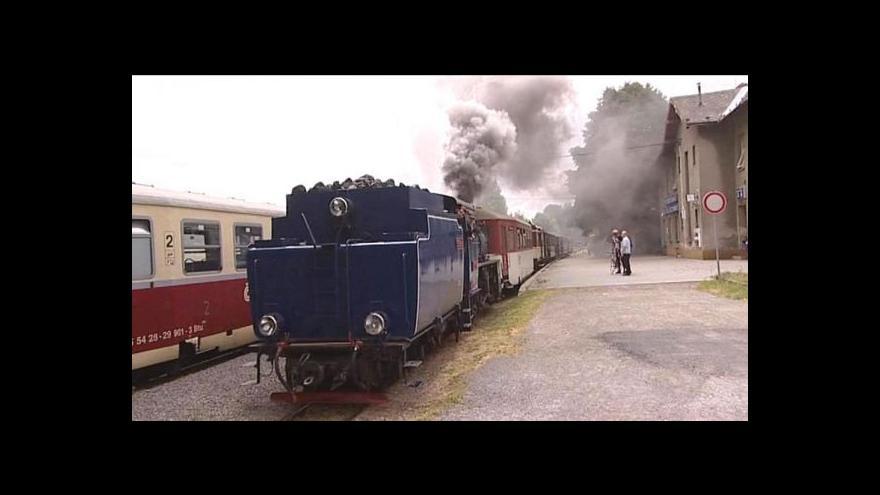 Video Turisty svezla i parní lokomotiva Rešita