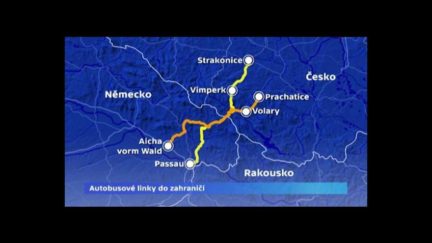 Video Čechy z příhraničí láká práce v Rakousku a Německu