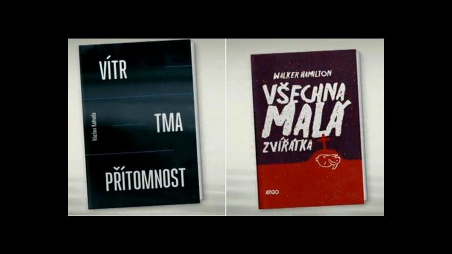 Video Literární kritička Eva Klíčová o knize Vítr, tma, přítomnost