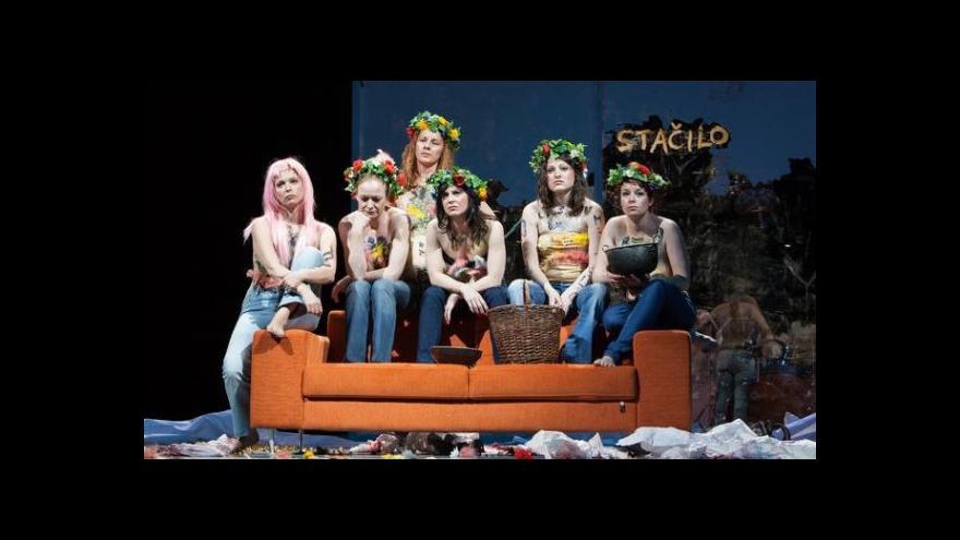 Video Brněnská Lysistrata se podobá ukrajinským Femen