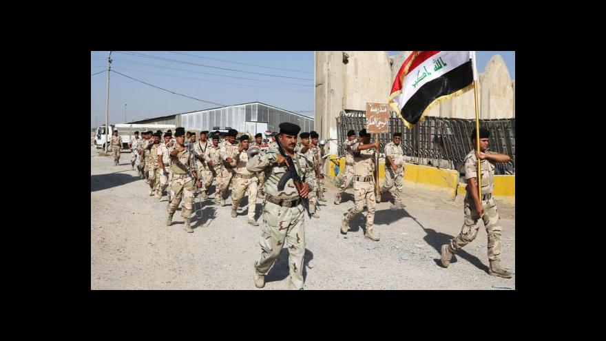Video USA posílají do Iráku elitní vojáky a zpravodajce