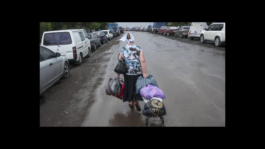 Video Ukrajina má 14bodový mírový plán pro separatistický východ země