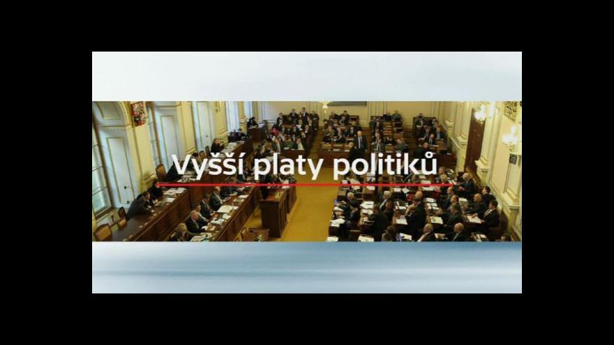 Video Události: Jak to dopadne s platy politiků?