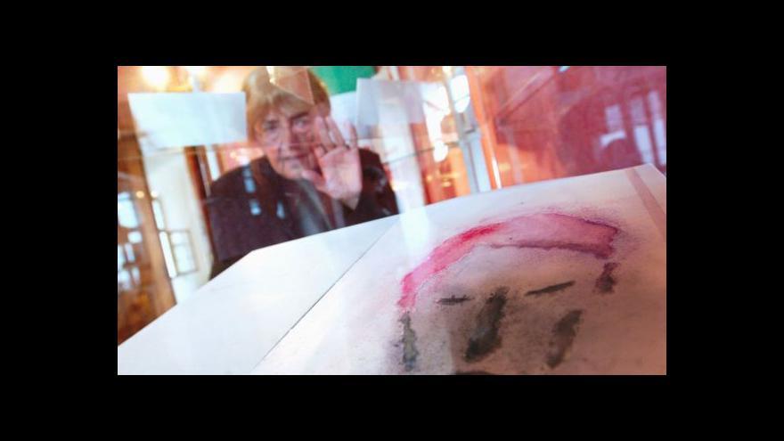 Video Museum Kampa vzpomíná na Adrienu Šimotovou