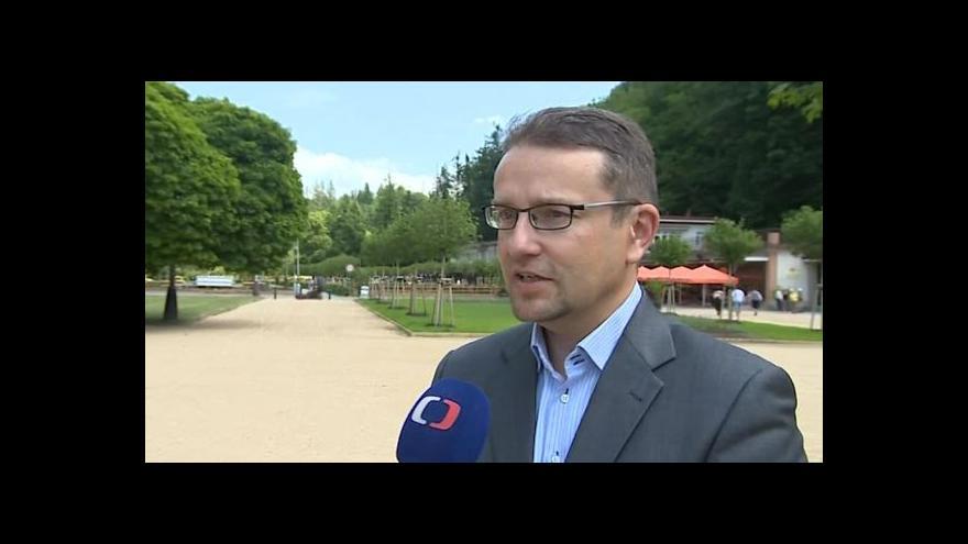 Video O obnově luhačovických parků hovoří ředitel lázní Eduard Bláha