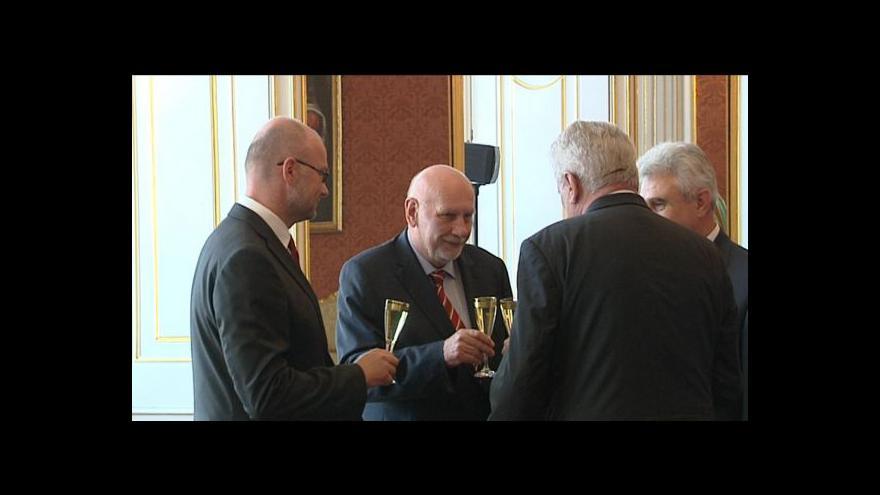 Video Prezident Miloš Zeman jmenuje Tomáše Lichovníka ústavním soudcem