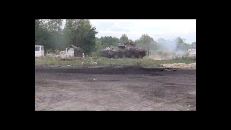 Video Události: Tvrdé boje utnuly ukrajinské příměří