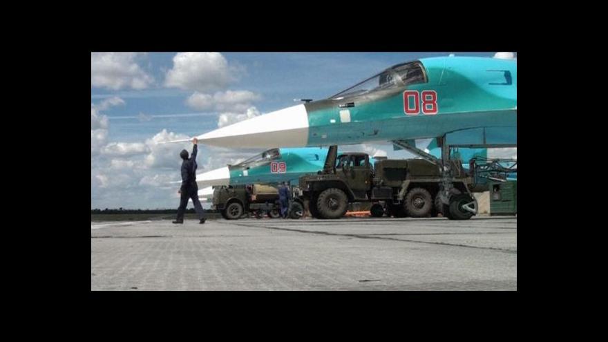 Video Rusko posiluje u ukrajinských hranic