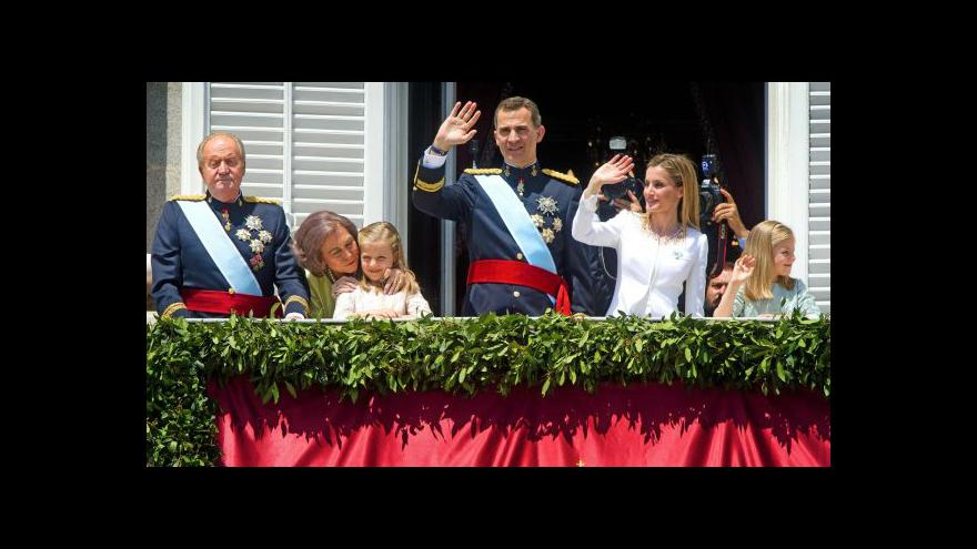 Video Události: Filip VI. usedl na španělský trůn