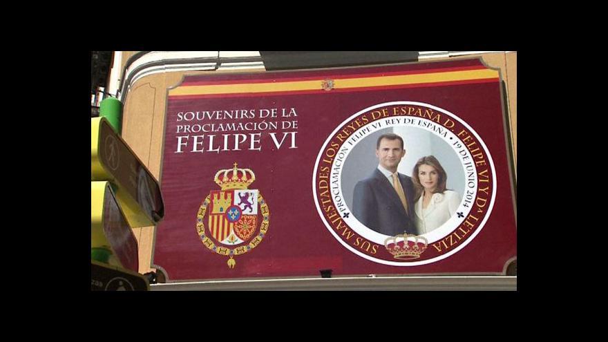 Video Na trůn nastoupí nový španělský král