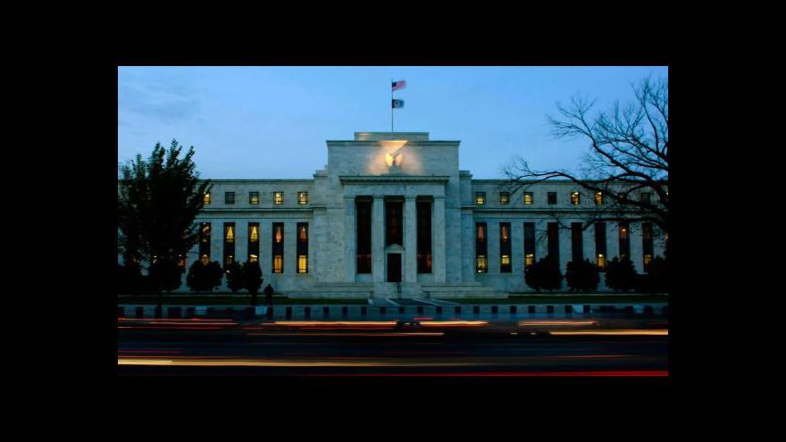 Video Ekonomika ČT24: Měnová politika Fedu