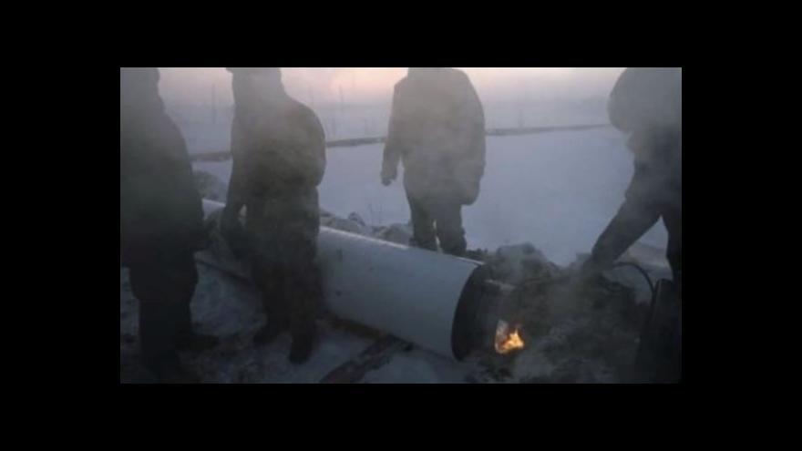Video Kromě incidentu s plynovodem je na Ukrajině klid