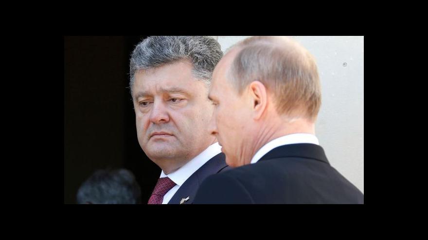 Video Východ Ukrajiny hlásí klid zbraní