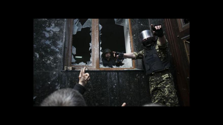 Video Šír: Problémem Ukrajiny je vnější vměšování