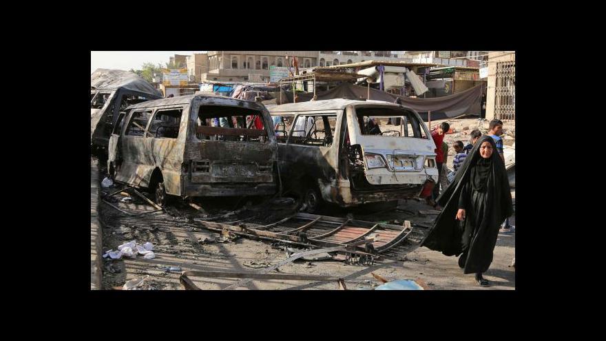 Video Radikálové z ISIL zaútočili na rafinerii v Bajdží
