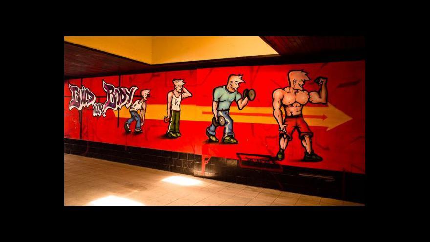 Video Jižní Město zdobí graffiti