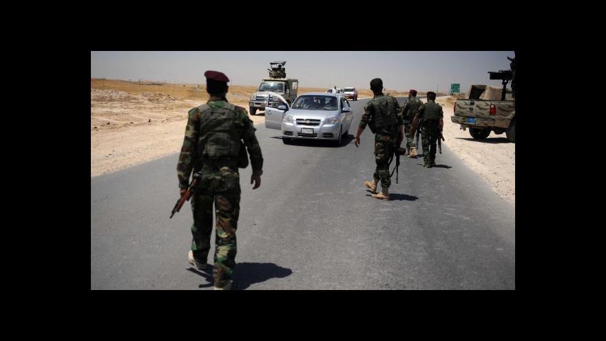 Video Tuhé boje o poslední překážku před Bagdádem