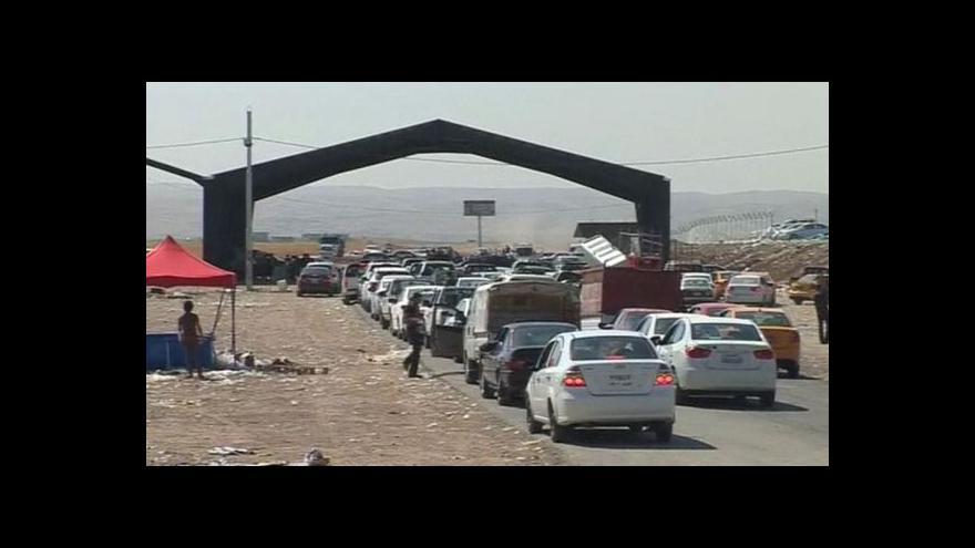 Video Irácká armáda zahájila ofenzívu