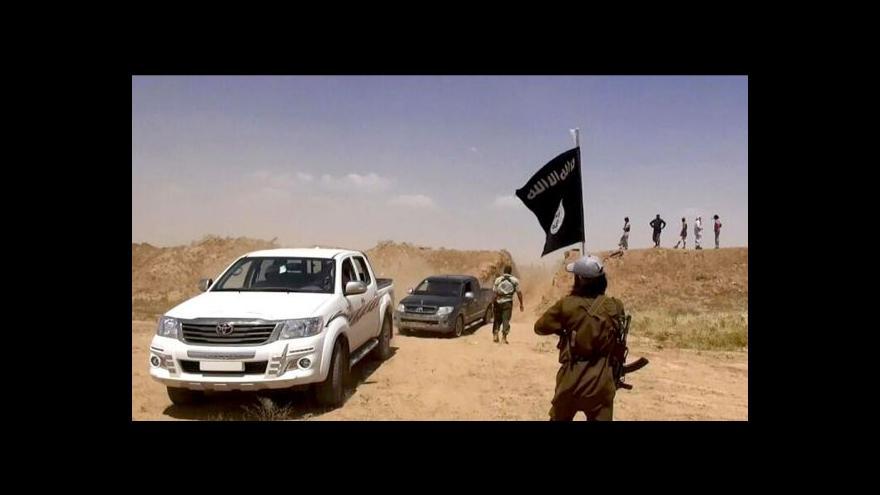 Video Jakub Szántó: Irácké armádě se začíná pomalu dařit