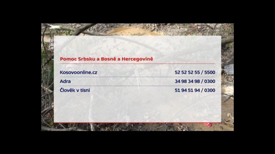 Video Srbsko a Bosna stále potřebují pomoc po ničivých záplavách
