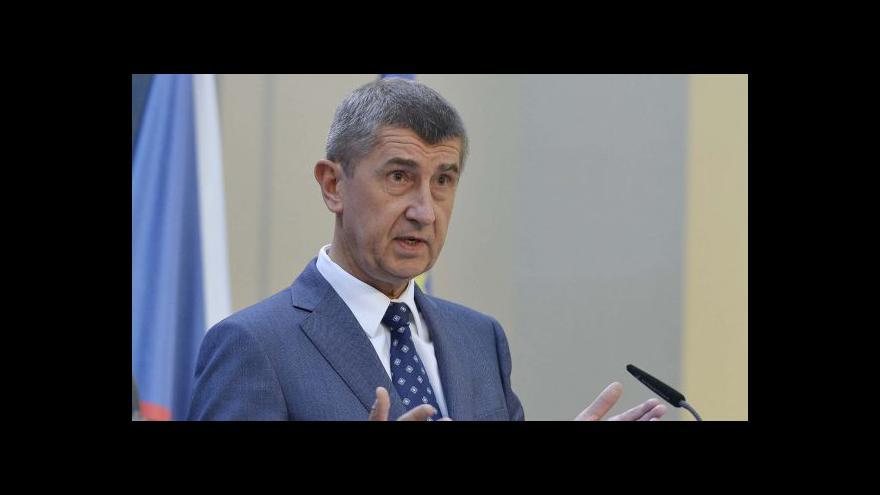 Video Babiš: Státní dluh by se neměl v příštím roce zvýšit
