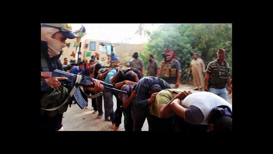 Video Tažení islámských radikálů Irákem sbližuje USA a Írán