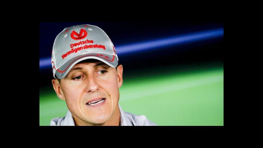 Video Cvachovec: Schumacherův převoz je neblahá zpráva