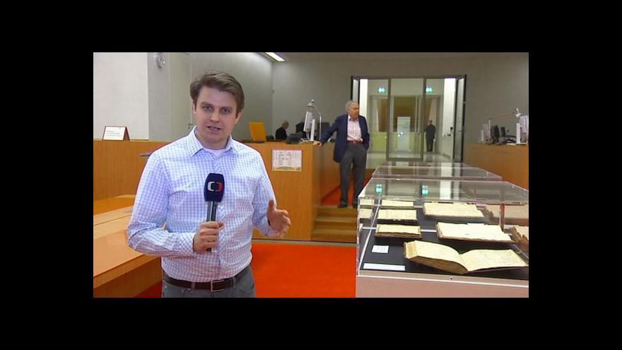 Video Německo koupilo Humboldtovy deníky