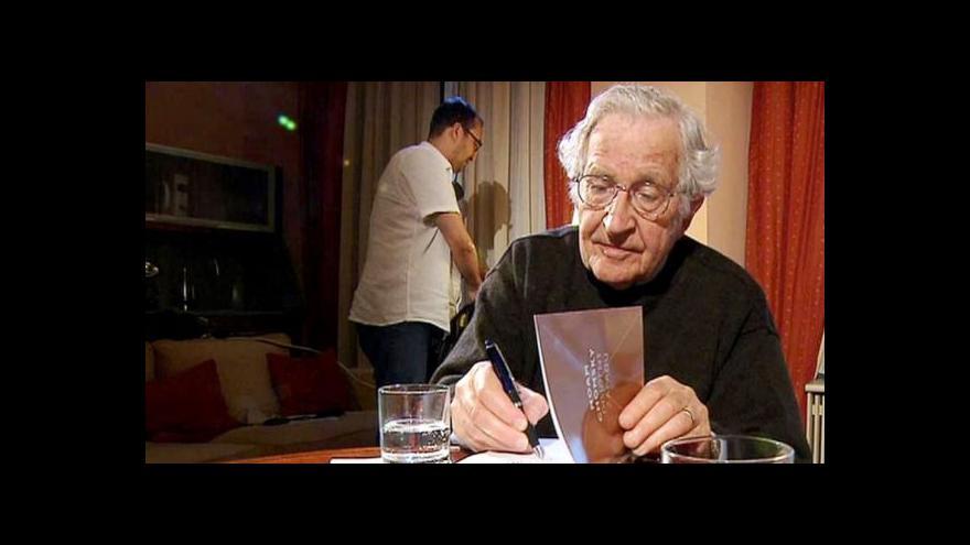Video Chomsky: USA a Ukrajina? Rusko v Mexiku nemobilizuje
