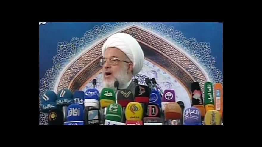 Video Bagdád se připravuje na útok sunnitských islamistů